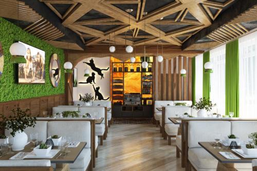 Отель Аура, ресторан