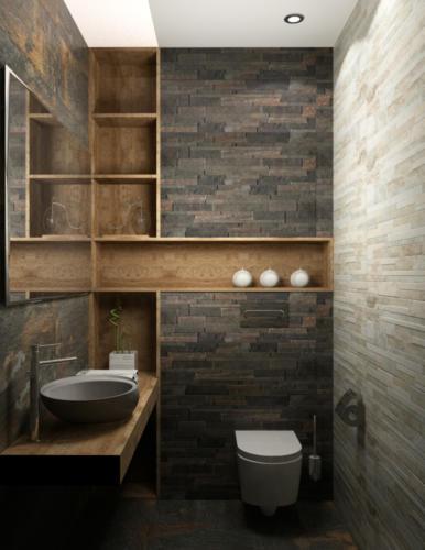 Отель Аура, ванная комната